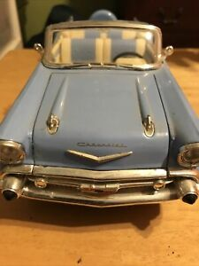 Road Legends Chevy 1957 Chevrolet Bel Air Turquoise 1:18 Scale Diecast NEW NIB