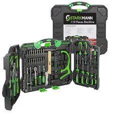 STARKMANN Blackline Werkzeugkoffer mit 110 Teilen