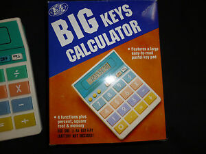 Brand New Big Keys Calculator New in Box Good for Kids, Seniors...