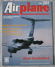 Airplane Issue 201 Short Sunderland Cutway drawing, Ilyushin Il-62 'Classic'
