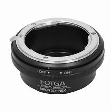 FOTGA Nikon G Lens to Sony NEX3 NEX5 NEX7 NEX-C3/5N/5R A5000 E-Mount Adapter