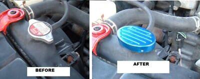 1996 1997 1998 1999 2000 Honda Civic Blue Billet Radiator Water Cap Cover