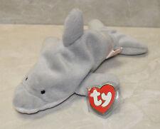 e265feb1eba Flash The Dolphin Ty Beanie Baby 1993 4th Generation PVC Pellets Original 9