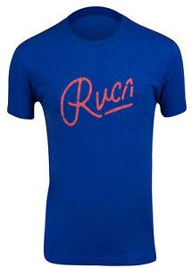 RVCA-Mens-Mowgli-Script-T-Shirt-Lapis-Blue