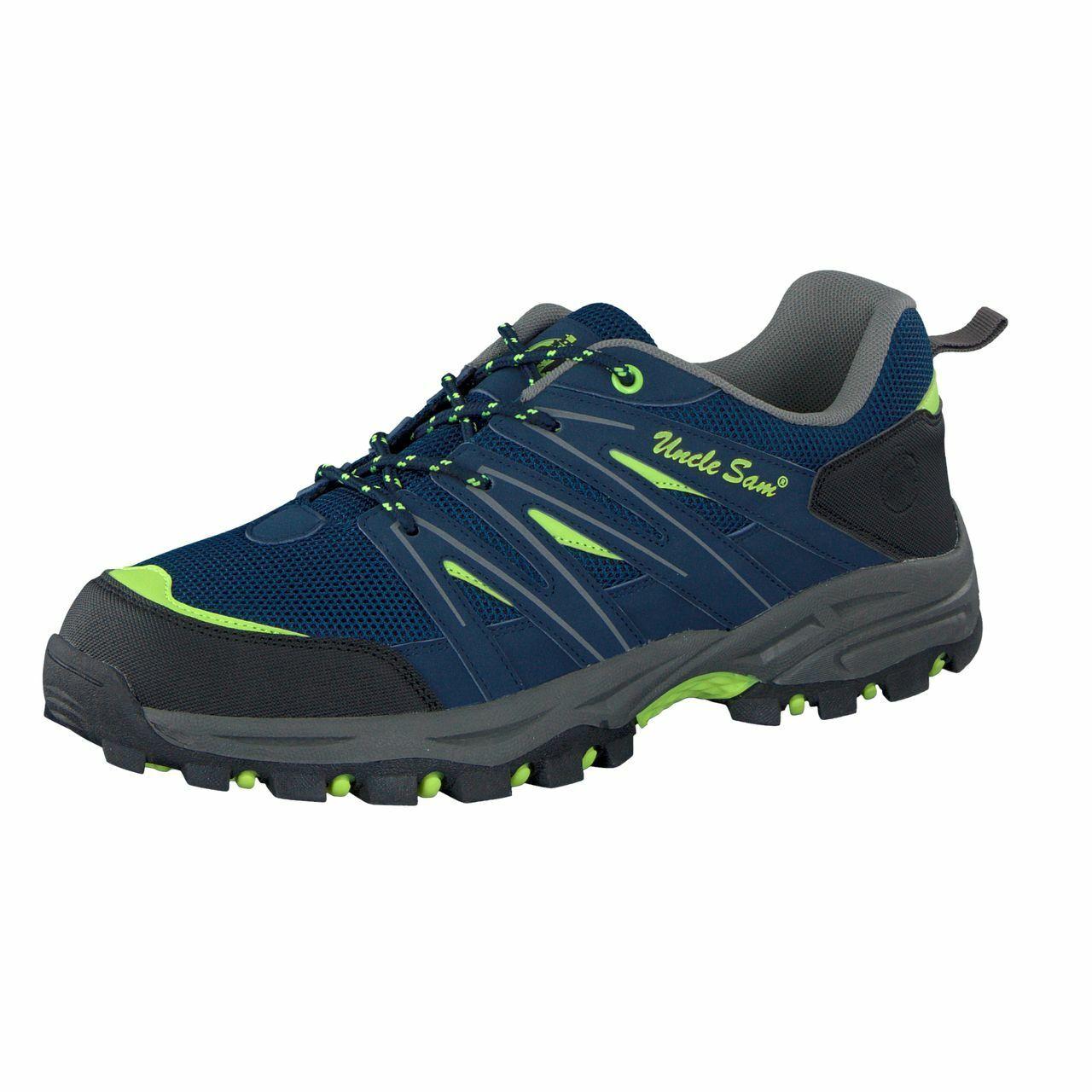 Uncle Sam shoes da Trekking men shoes Outdoor blue Marino Calce