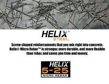 Helix Steel 5 25 Micro Rebar Concrete Reinforcement 45lb Box