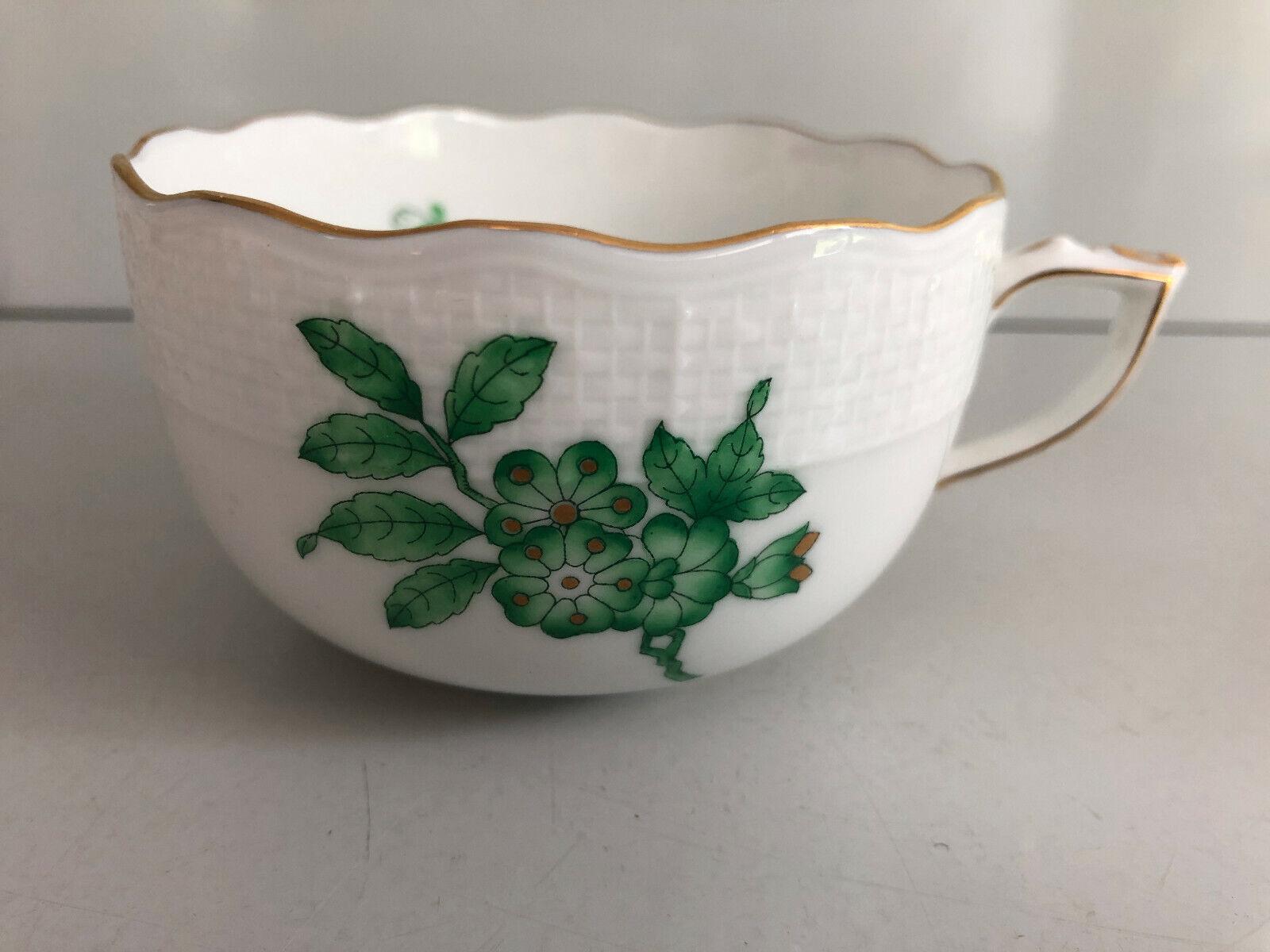 Herend 704 avarv vert Tasse à Thé inexploitées tea cup