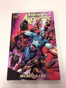 The-New-Avengers-Secrets-amp-Lies-signed-by-Fran-Cho-and-David-Finch-hardcover