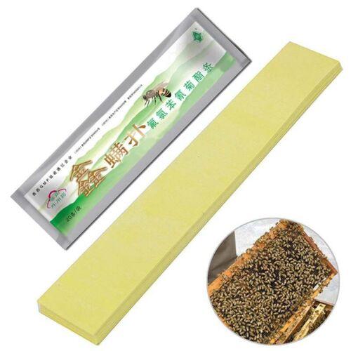 4Bag// 20x Varroa Strip Fluvalinate Bee Mite Acaricide Beekeeping Pest Control G