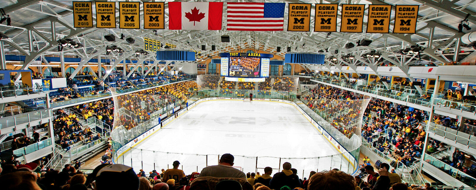 Arizona State Sun Devils at Michigan Wolverines Hockey