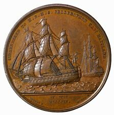 1815 Great Britain Surrender Of Napoleon Medal Mudie's National Series Mudie-37