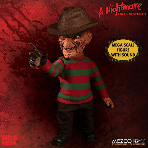 Mezco A Nightmare on Elm Street  15  Mega Scale Talking Frotdy Krueger BRAND NEW