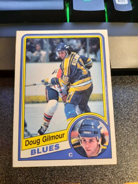1984-85 O-Pee-Chee Doug Gilmour RC ROOKIE + 2nd+4th year cards LOT LEAFS BLUES