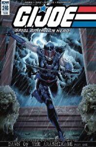 G.I. Joe #246 Covers A & B. First App. Of Lady Snake Eyes IDW