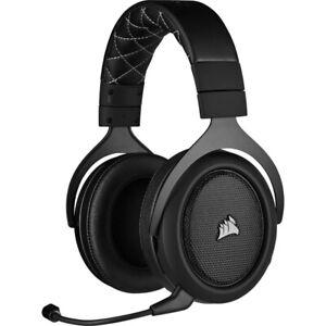 Corsair hs70 pro Gaming-auricular inalámbrico 7.1 Surround Sound 2,4-ghz Carbon