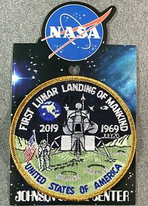 NASA-FIRST-LUNAR-LANDING-OF-MANKIND-PATCH-APOLLO-11-Official-Authentic-SPACE-4-034