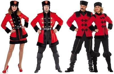 Kosake Kosakenkostüm Damen Herren Kostüm Kosakin Russin Russe