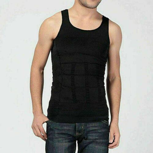 Herren Männer Shapewear Bauch Weg Shirt Figurformend Unterhemd Hemd Muskelshiun