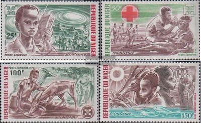 kompl.ausg. Niger 370-373 Postfrisch 1973 Pfadfinderbewegung Sale Price
