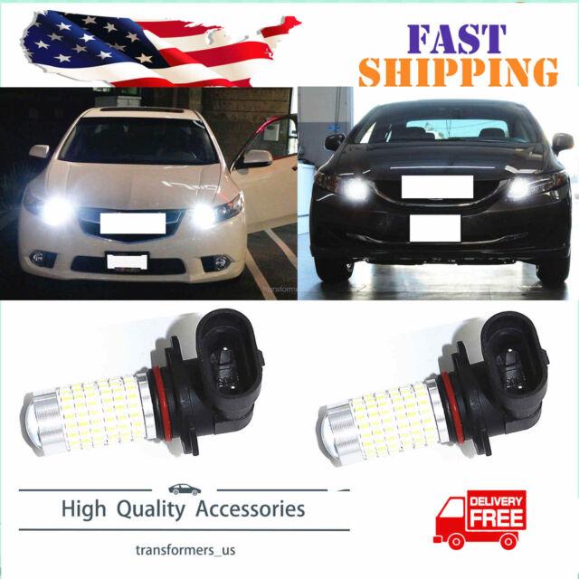 9005 LED High Beam Daytime Running Light Fit For Acura ILX