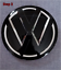 Folierung-Set-schwarz-chrom-passt-fuer-Heck-VW-Emblem-Golf-VII-5G-ab-2013 Indexbild 5