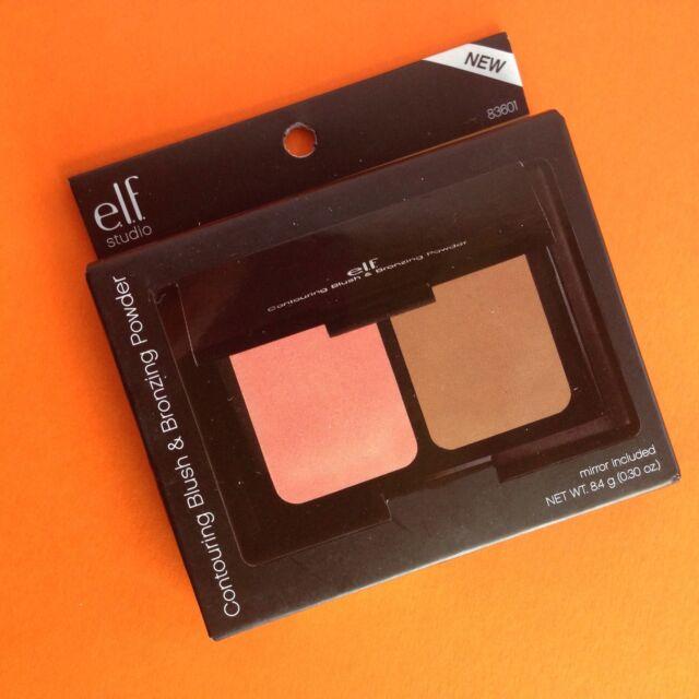 E.L.F. ELF Studio Contouring Blush & Bronzing bronzer Powder palette - St Lucia