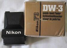 Nikon F3 DW-3 livello della vita FINDER fotografia vintage foto macchina fotografica