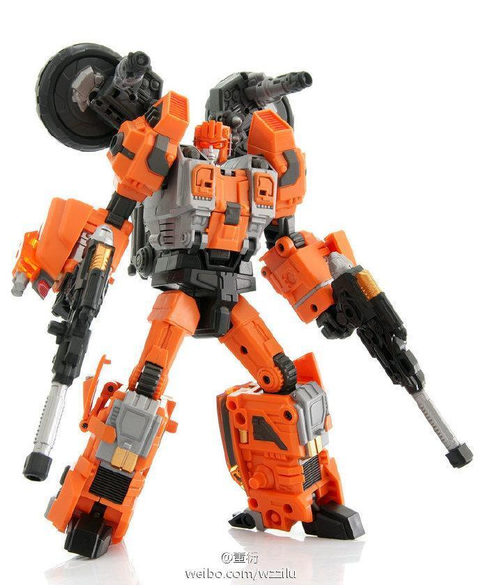 New Warbotron Transformers WB03-A Computron Afterburner Motobrike Action Figure