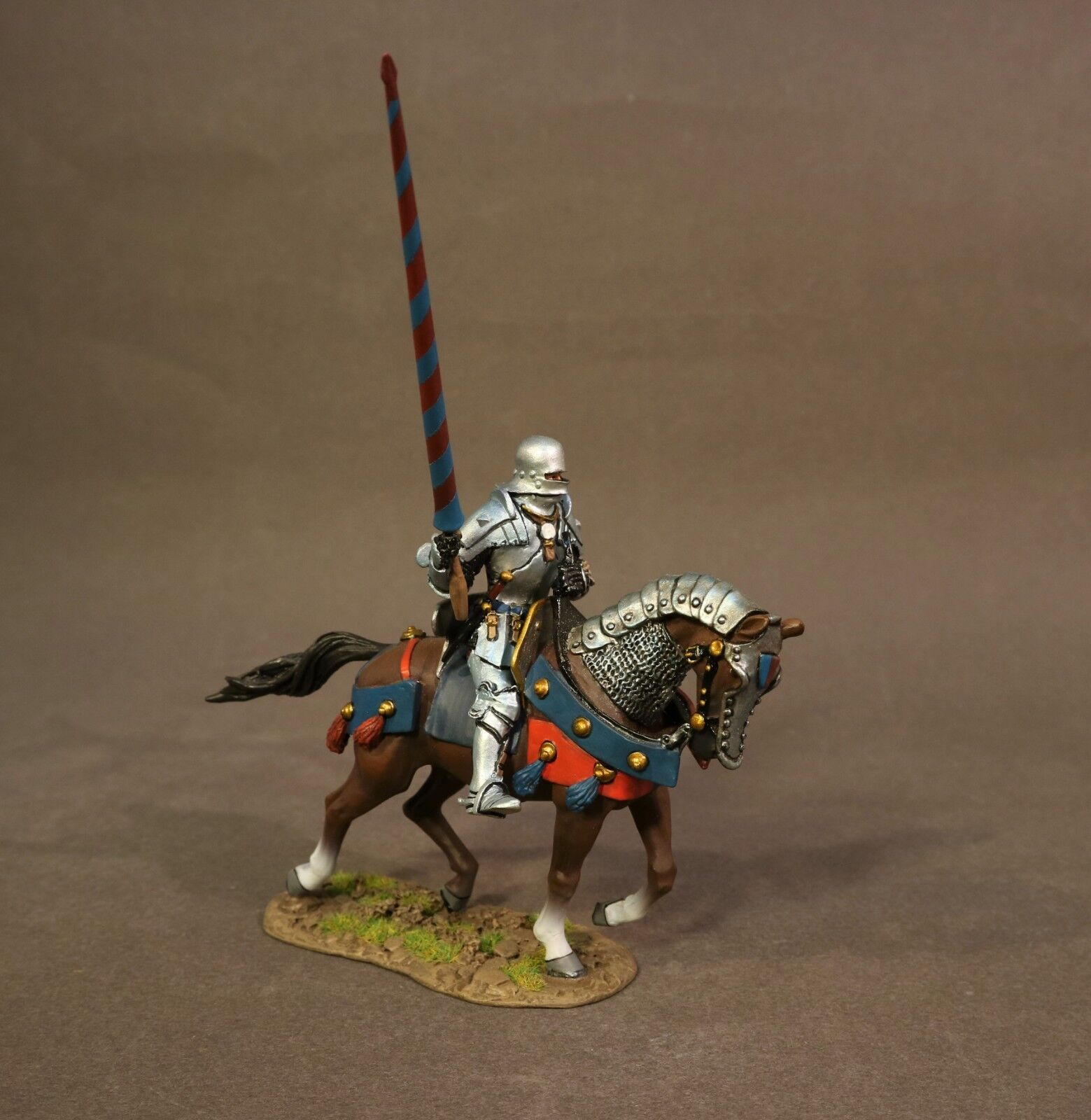 JOHN JENKINS WAR OF THE pinkS RYORK-06A MOUNTED YORKIST KNIGHT BOSWORTH MIB