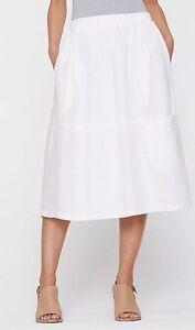 c579ffc7b22 Image is loading 2X-NWT-Eileen-Fisher-White-Organic-Handkerchief-Linen-