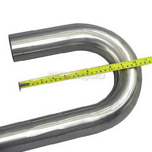"2.5/"" 45 180 U 304 Stainless Mandrel Bend Pipe Tube"