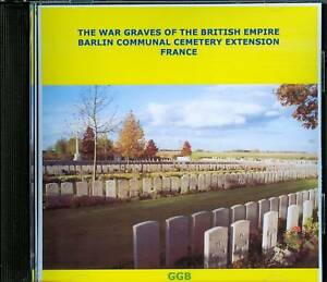 WAR-GRAVES-OF-BARLIN-COMMUNAL-CEMETERY-EXTENSION-CD-ROM