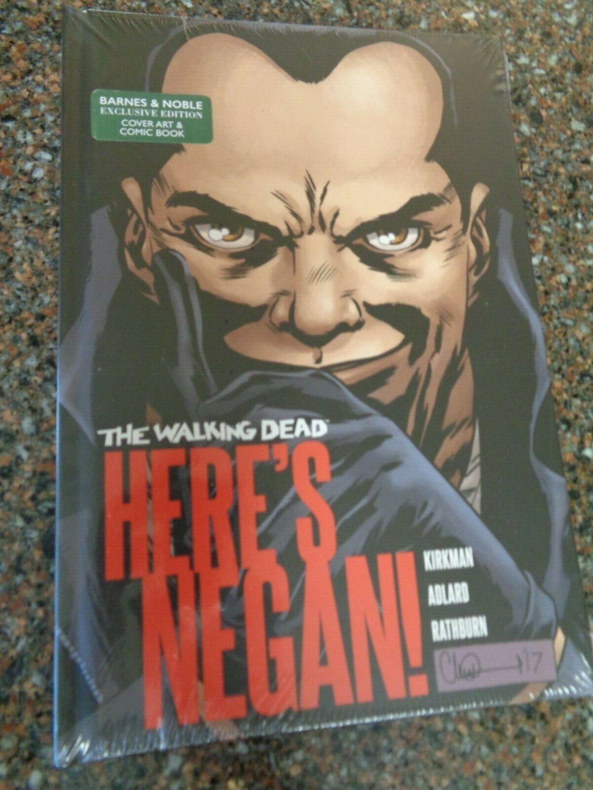 Walking Dead 100 Barnes /& Noble Variant 1st Appearance of Negan Image Comics NM