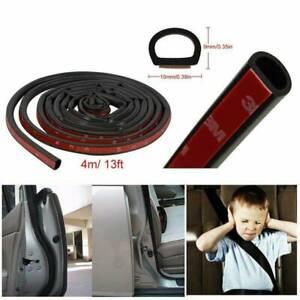 4M-Small-D-Car-Rubber-Seal-Strip-Edge-Protector-Type-Door-Weatherstrip-Sealing