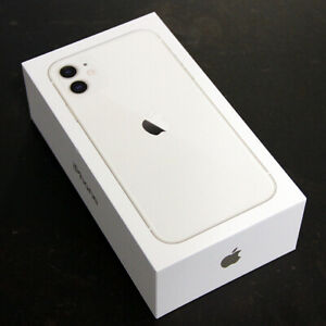 APPLE-iPHONE-11-WHITE-128GB-MINT-RETAIL-BOX-amp-PAPERS-NO-PHONE-NO-ACCESORIES