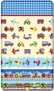 100/% coton drap housse motif imprimé bébé berceau 90x40cm camions