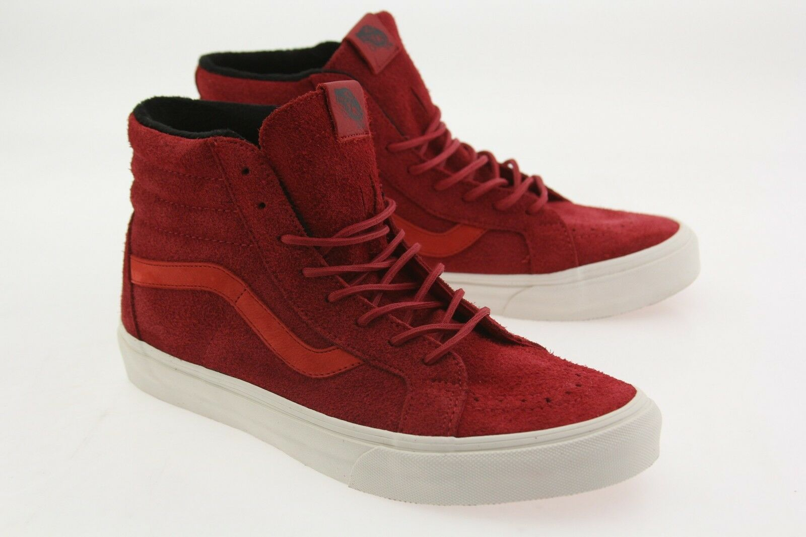 Vans Men Sk8-Hi Reissue - Year Of The Monkey red suede VN04OKJ95