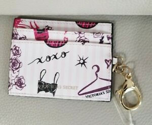VICTORIA/'S SECRET              PINK             ID CASE  WALLET COIN KEYCHAIN