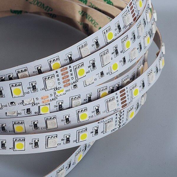 LED Strip 5050 RGB+Neutralweiß (4000K) 72W 500CM 24V IP20