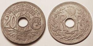 20-Centimes-1945-C-Castelsarrasin-TTB-Rare