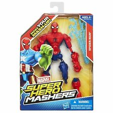 "SPIDER-MAN ( 6"" ) HTF ( 2013 ) MARVEL SUPER HERO MASHERS ACTION FIGURE"