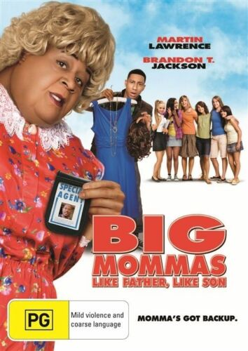 1 of 1 - Big Mommas Like Father Like Son NEW R4 DVD