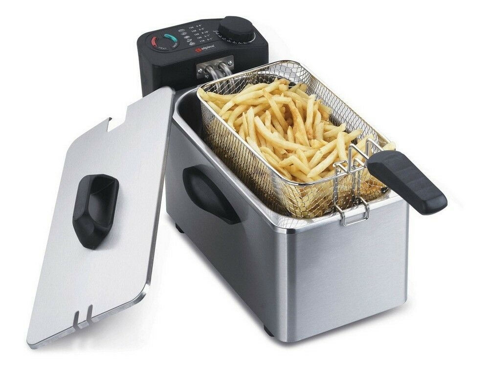 Alpina NOUVEAU 220 V 3.5 l friteuse pour l'Europe UK Asie Afrique 220 V 240 V
