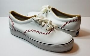 489bb709ca7fc Image is loading Keds-Champion-Pennant-Leather-Baseball-White-Sneakers -Women-