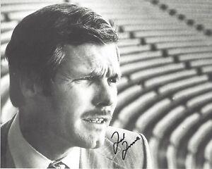 TED TURNER Signed 8 x 10 Photo TV Pioneer ATLANTA BRAVES Baseball Free Shipping