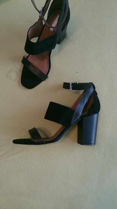 Hm Collezione Premium Sandali 40 Pelle Camoscio Camoscio Pelle 27c50f