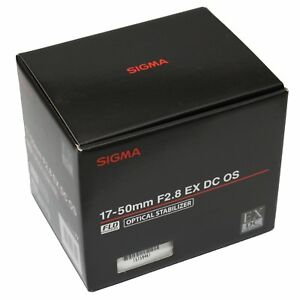 Sigma-17-50mm-f-2-8-EX-DC-OS-HSM-Lens-17-50-F2-8-F-2-8-Built-in-Motor-fuer-Nikon
