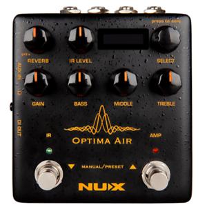 NuX Optima Air Acoustic Simulator and IR Loader Pedal NAI-5