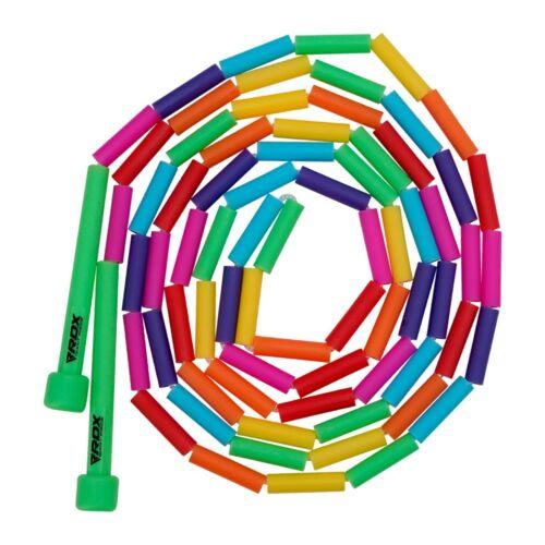 RDX Kids Jump Rope Plastic Segmented Beads 10FT Adjustable Skipping Exercise