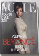 600+pg SEALED BEYONCE RULES THE WORLD POWER ISSUE 3 1/2 Lbs VOGUE MAG MARCH 2013